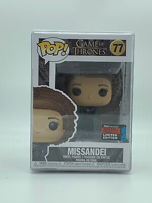 Funko Pop! Game of Thrones #77 Missandei NYCC 2019 Fall Convention Exclusive LE