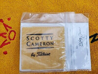 Titleist Scotty Cameron Putter Limpiador Aceite Paño