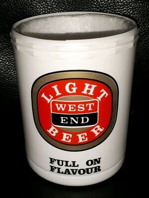 Collectable West End Light Beer Stubby Holder Great Condition Plastic & Foam