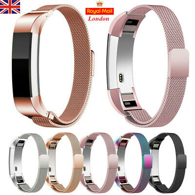 For Fitbit Alta/Alta HR Milanese Watch Band Strap Loop Magnetic Metal Bracelet