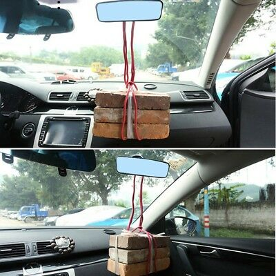 Universal Rear View Interior Car Mirror Adjustable Suction Cup Safety Car Cool