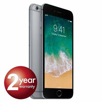 New Apple iPhone 6s 64GB Space Grey 2 Year Warranty Unlocked SIM Free Smartphone