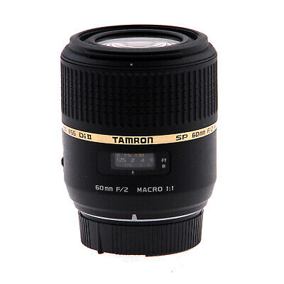 Tamron SP AF 60mm f/2.0 Di II Macro Lens - Nikon Mount (Open Box)