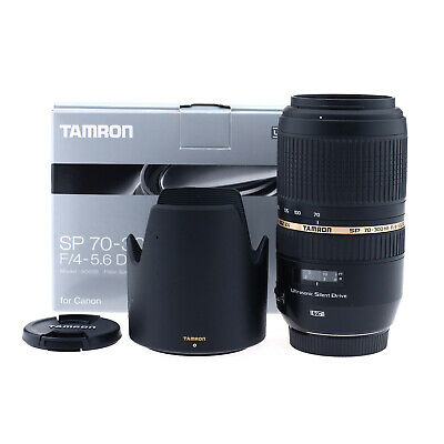 Tamron SP 70-300mm f/4-5.6 Di VC USD Lens - Canon Mount (Open Box)