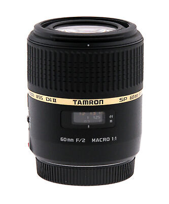 Tamron SP AF 60mm f/2.0 Di II Macro Lens for Sony & Minolta (Open Box)