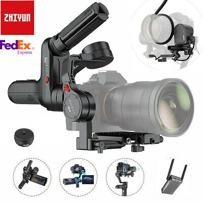 ZHIYUN WEEBILL S Gimbal 3-Axis Handheld Stabilizer Zoom/Focus DSLR Cameras LOT