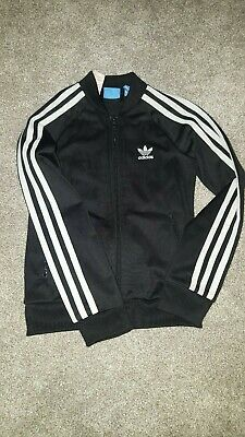 girls adidas original jacket /tracksuit top age 7/8