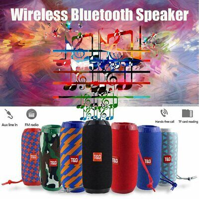 TG 117 Wireless Bluetooth Speaker Outdoor Stereo Bass USB/TF/FM Radio Audio Hot