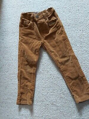 Next Boys Cord Trousers Age 1.5-2 Years Old