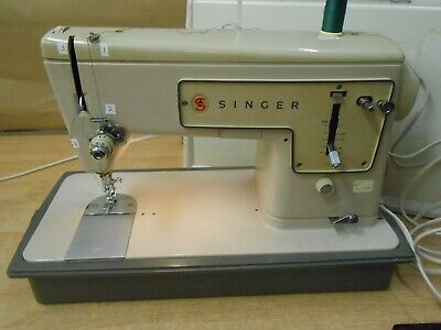 Singer Electronic Electric Sewing Machine Working Order Vintage