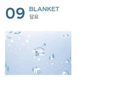 Nct 127 Fanmeeting Winter 127Ctzen Official Goods Blanket + Photocard Sealed