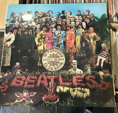 The Beatles -Sgt Peppers Lonely Hearts Club band 1st press w/insert/inner sleeve