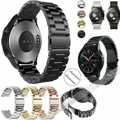 Stainless Steel Band Wrist Strap Quick Release For Samsung Galaxy Watch 42/46mm