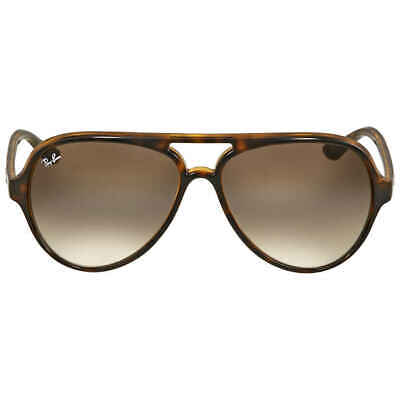 Ray Ban Cats 5000 Classic Tortoise Aviator Sunglasses RB4125 710/51 59