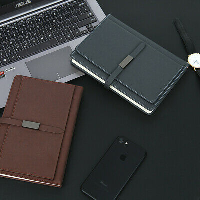 A5 PU Leather Vintage Journal Notebook Lined Paper Diary Planner 200 Pages