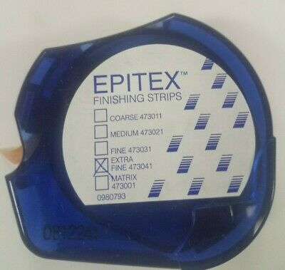 Epitex Finishing & Polishing Strips Reel Xfine, Fine, Med, Coarse, Matrix 10m