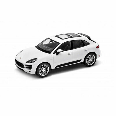 Porsche Macan Turbo 2014 weiß Modellauto 1:24 Welly