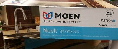 MOEN Noell 87791SRS Pull-Down Kitchen Faucet with Reflex