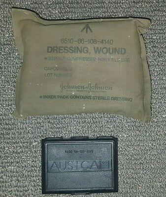 Field Dressing + Auscam Cam Cream DPCU Shell First Aid Wound AMCU Multicam Camo