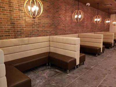 Commercial Restaurant  Booths long Bench
