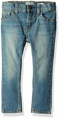 Osh Kosh Boys' Toddler Skinny Jeans, Tumbled Light, 3T, Tumbled Light, Size 3T U