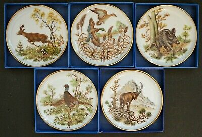 PHEASANT #5 SET OF 4 COASTERS RUBBER WITH FABRIC TOP