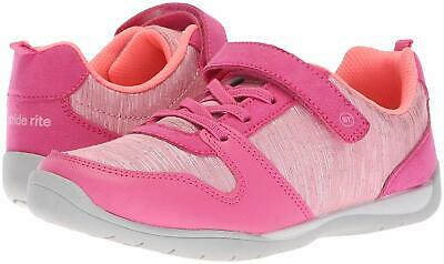 Kids Stride Rite Girls Avery Low Top , Pink, Size 11.0 fQt1 US / 10 UK