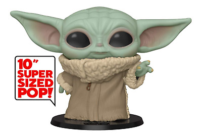 "Funko Pop! 10"" Star Wars Baby Yoda ""The Child"" Mandalorian - May 2020 release"