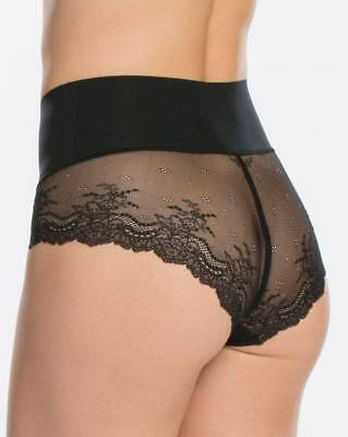 SPANX Undie-tectable Lace Hipster Panties  small black new no tags