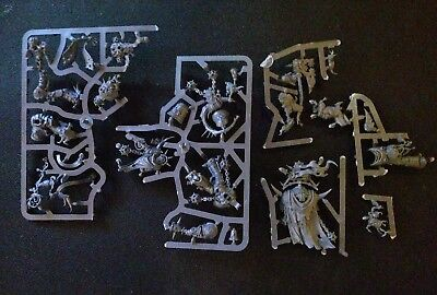 Warhammer 40k Chaos Nurgle Death Guard Characters from Dark Imperium