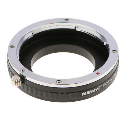 Lens Adapter Ring for Canon EF Mount Lens to M42 42mmx0.1 Camera Manual Control
