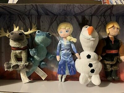 Disney Frozen 2 Plush Collector Set Walmart Exclusive Bruni Salamander