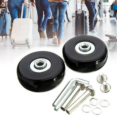 4x Luggage Universal Swivel Caster Wheel Suitcase Replacement  Spinner Wheels AU
