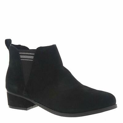 Kids Toms Girls Esme Ankle Pull On Western, Black suede, Size 13 Youth Girls 4nq