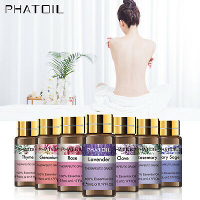 PHATOIL Essential Oil Pure Natural Aromatherapy 5ML Essential Oils Fragrance D