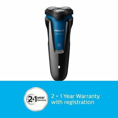 Philips Wet & Dry Protective Electric S1030 /4 Shaver For Men Black & Royal blue