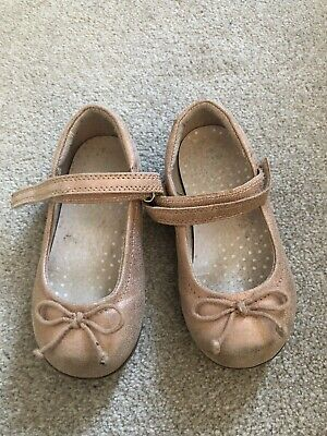 Girls Party Shoes Mary Janes Size UK 7 Infant Rose/ Pink NEXT