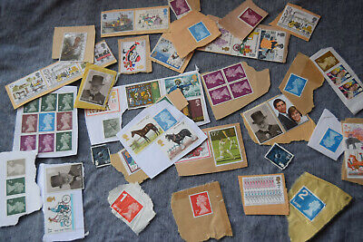 Gb Mint Postage Stamps On Paper Unfranked.  Approx £13 Face Value