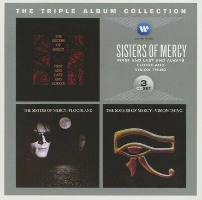The Sisters Of Mercy - The Triple Album Collection CD3 WEA International NEW