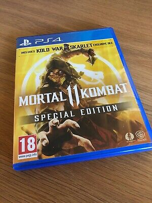 Mortal Kombat 11 PS4 game - mint condition