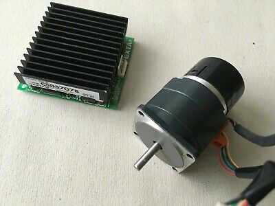 Vexta Stepping Motor PH544-NA-A15 with Encoder and  5 Phase Driver  CSD5707