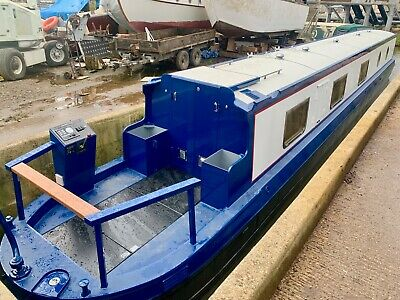 60' Painted Sailaway Lined Narrowboat, Cruiser Stern, built 2019