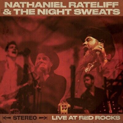 Nathaniel Rateliff and The Night Sweats - Live At Red Rocks CD Caroline NEW