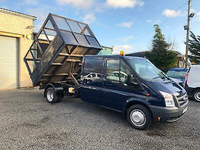 Ford Transit tipper  double cab 2.4TDCi ( 115PS ) T350L ( RWD LWB only 64.394 K
