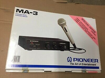 Pioneer MA-3 Karaoke Mixer With Digital Echo,NIB ,RARE