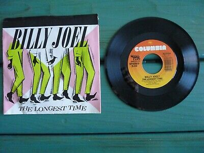 """BILLY JOEL The Longest Time / Christie Lee  Picture Sleeve  45 RPM 7"""""""