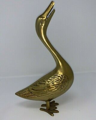 Solid Brass Handmade Antique Geese