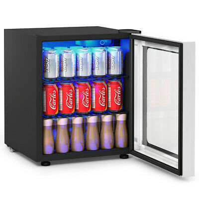 60 Can Beverage Mini  Refrigerator w/ Glass Door - NEW ***FREE SHIPPING***