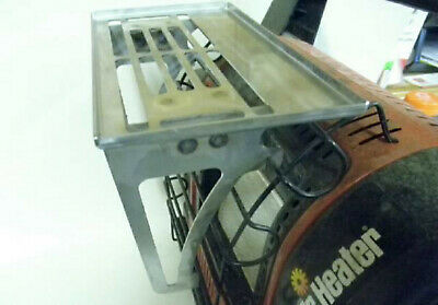 Buddy Heater Grill Attachment - Warm food and drink while you are ice fishing!