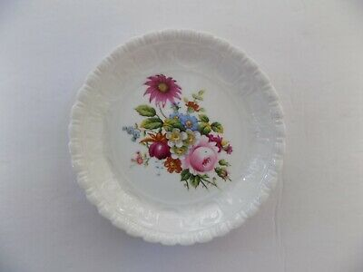 Coalport Bone China Ludlow Dish Floral Pin Trinket Cabinet Made In England